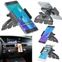 auto cell phone holder - New Universal Car Auto CD Slot Mount Cradle Holder Stand for Mobile Smart Cell Phones for iphone s plus Galaxy s7 edge