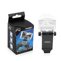 Wholesale DOBE Brand New Cheap Gaming Phone Holder plastic Clamp For ps4 with CM OTG CABLE
