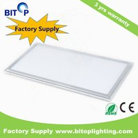 Wholesale Whole sale price top quality1X2ft ultra thin square LED panel light W AC100 V recessed or pendent installation for office lighting