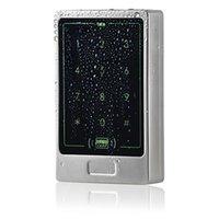 Металл Сенсорная панель Поддержка RFID125KHz ID карты и пароль управления открытых дверей доступа 8000 пользователей Silver F1267D