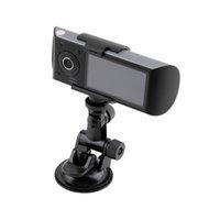 Wholesale car dvd Dual Lens Car DVR X3000 R300 Dual G Sensor Camcorder Degree inch dash cam Car DVR Camera Recorder with GPS logger hot