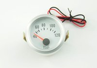 Wholesale 2 Inch Electrical Blue LED Light Car Water Temp Gauge C Modified Gauge Meter