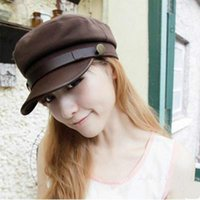 army hat types - Military Hats Types Adult Woman And Man Fashion Army Cap Flat Caps Gorras Snapback Vintage Captain Hat Sailor