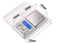 Wholesale 1 g English Version Weighing Scales Digital Electronic Scale Mini Jewelry Pocket Scale