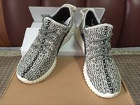 Cheap Double box +shopping bag turtle dove 350 Boost 2016 wide version Factory grey Kanye Shoes 350 Boost pirate black running shoes size 36-47