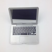 Wholesale Hot sale New style High Quality Mini Macbook Air Cosmetic Pocket Mirror Makeup Blank Compact Mirror