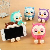 Wholesale free Colorful Cute Animal Model Phone Stand For iphone plus Phone Stand Holder New Arrival