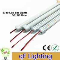 Wholesale High power W LED Bar U Groove Light LEDs CM LED Rigid Strip DC V SMD5630 LED Tube Hard LED Strip