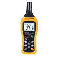 Wholesale PEAKMETER MS6508 High Accuracy Digital Humidity and Temperature Meter Centigrade or Fahrenheit Data Hold and Backlit