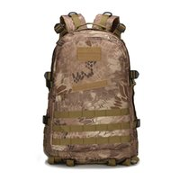 abrasion resistance - 40L Military Tactical Backpack Abrasion Resistance Rucksacks Military Regulation Fabric Sport Camping Molle Trekking Bag D Fabric