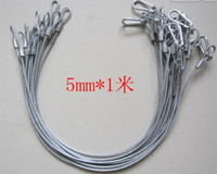 Wholesale 20pcs steel light safety rope cable hook safe wire for stage light security cm length mm Dia