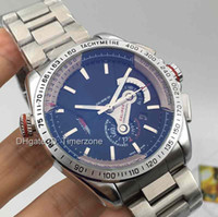 Wholesale 2016 Hot Brand Fashion Business Dress luxury watches wristwatch automatic mechanical Stainless steel Carrera Grand Calibre men s watches