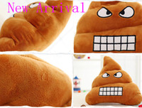 baby poo - New Arrival Cute Funny Emoji Poo Shape Throw Pillow Cushion Toy Doll Home Office Bedding Sofa Chair Fit for Baby