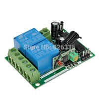 Wholesale Fixed code12V CH wireless remote control switch Transmitter Receiver RF Wireless Remote Control Switch controller wifi