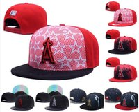 angels black hat - 2016 New Men s Los Angeles Angels Snapback Hats Team Logo A Letter Embroidery Sports Adjustable Orange Baseball Caps Jungle Camouflage