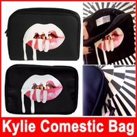 Wholesale Factory Stock New Arrival Kylie Bags Cosmetics Birthday Bundle Bronze Kyliner Copper Creme Shadow Makeup Bag