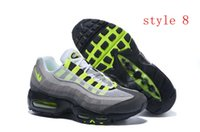 arrival greens - Air New ArrivaL Max ESSENTIAL Anniversary men s air cushion running shoes Original quality factory outlet Size US