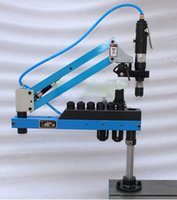 air tapping machine - M3 M12 mm Flexible Arm Pneumatic Air Universal Tapping Machine Angle