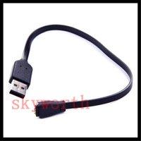 оптовых fitbit wristband зарядки кабели-27см USB-зарядное устройство для зарядки зарядный кабель Шнур для Fitbit Force Charge беспроводной браслет браслет черный