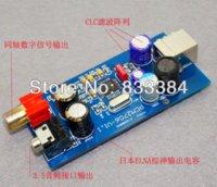 Wholesale PCM2706 USB to Coaxial DAC headphone amplifier in black case better than PCM2704 Amplifier Cheap Amplifier