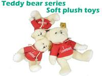 best kids bears - New bear toys toys stuffed animals soft toy teddy bear with embroidered red dressing on the short sleev best gift for kids