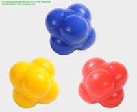 Wholesale L2 New Arrival mm Silicone Reaction Ball Agility Coordination Reflex Exercise Training Ball