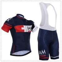 Wholesale tour de france I AM cycling jersey bibs shorts polyester quick dry team pro bicycling shirts bottoms suit