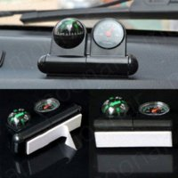 Wholesale 2 In Black Removable waterproof Car Compass amp thermometer Outdoor Camping Equipment Car Truck Boat Navigation Compass ZHM073 M51001