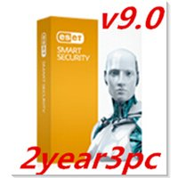 active internet - ESET NOD32 ESET Smart Securityv9 English version2year3 user active key
