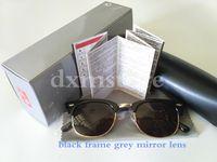 aluminum hinged - Top Quality Polarized Sunglasses For Men Women Brand Designer Fashion Metal Hinge Sunglasses UV400 With Orginal Package KS03016