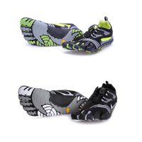 venda por atacado five finger sport shoes-Esportes Profissionais 5 Cinco Dedos 5 Dedos do Pé Homens Caminhadas Sapatos de Escalada KMD Sapatos Esportivos Flats Casual Caminhada Camping Sneakers Sapatos Homens 40-46
