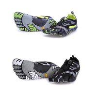 Esportes profissionais 5 cinco dedos 5 Toes Mens Caminhadas Escalada sapatos KMD Sports Shoes apartamentos Andar Casual Camping Sapatilhas Homens 40-46