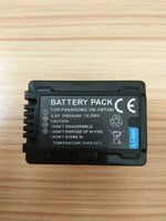 Wholesale VW VBT380 VBT380 VW VBT190 VBT190 Battery for Panasonic HC V110 HC V130 HC V160 HC V180 HC V201 HC V210 HC V250 HC V260 HC W570 HC W