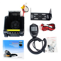 Wholesale New Black VHF MHz W CH CTCSS DCS Group Scrambler Scan Retivis RT D Mobile Car Ham Radio Transceiver