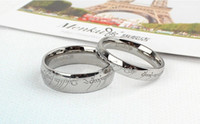 lord of the ring - Lord Of The Rings Film Ring One Ring European And American Fashion Wave Of Men Titanium Steel Jewelry Couple Rings MM MM MM