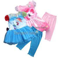Cheap my little pony clothing set Best dress leggings set