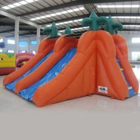 water park games - AOQI water park equipment mini water slide for kid cheap small water slide for water game