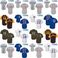 jerseys for kids - Kids Grey blue white Jason Heyward Ben Zobrist Sammy Sosa Jersey Youth Chicago Cubs Cool Base jersey for sale stitched