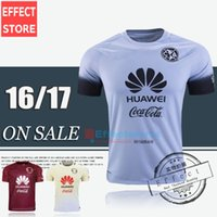 mayorista Mejor calidad de Tailandia 2016 Mexcio Club América Tercera Gray 15/16 fútbol camiseta de fútbol Jersey MICKY M.LAYUN O.PERALTA D.BENEDETTO