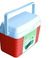 beach party food - New arrival L food drinks cooler incubators refrigerated containers containing utensils Lunchbox outdoor leisure beach party fishing use