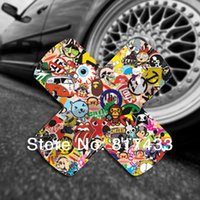 Wholesale 2013 High Quality PVC Adhesive Hellaflush Vinyl Band Aid Sticker JDM Waterproof Stickers