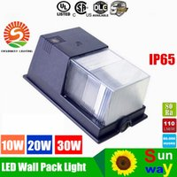 Wholesale Mini led wall pack Phillipsluxeon SMD3030 LED W W W wall pack led light IP65 waterrproof led outdoor lighting AC V