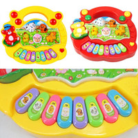 Wholesale Baby Toddler Musical Educational Animal Farm Piano Music Developmental Kids Toy