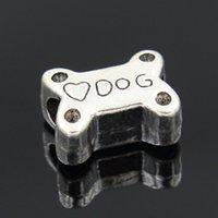 beaded pets - 1 Silver I LOVE MY PET Dog Bead Fit pandora bracelet DIY Bead Charm Bracelets Bangles women gift