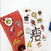 apples diet - Fashion Lovers Diet Delicacy Foodie needed Candy Cartoon Creative TPU Soft Silicone Cell Phone Cover Cases For Iphone6 s plus