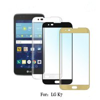 Wholesale For LG K7 Tribute For LG K10 G5 screen D Protector Tempered Glass Full Cover Curved Side Explosion Proof with Retail packaging