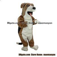 beagle costume - Beagle Dog Mascot Costumes Cartoon Character Adult Sz Real Picture2