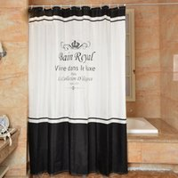 Wholesale New Arrival Classic Polyster Shower Curtains Waterproof Bathroom Accessories Hot Sell Cheap Shower Curtain In Stock