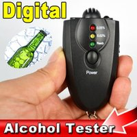alcohol content tester - Hot Selling blackdigital alcohol tester AD09 breathalyzer Professional Alcohol Content Detector alcohol Analyzer For Driver