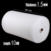 Wholesale m mm EPE Foam Roll Packing Material Cushion Foam Sheet Packaging War Inflatable Air Cushion Imballaggio Protector
